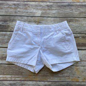 Moving Sale! J. Crew White Chino Shorts Size 2